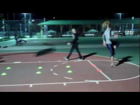 Long Jump - Penultimate Drill