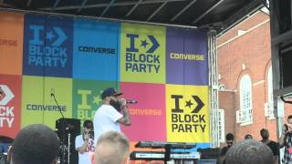 Stalley - The World is Ours Live @ Converse Block Party