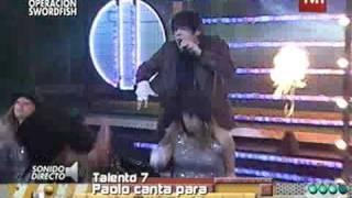 getlinkyoutube.com-Paolo Ramírez canta Rock With You Calle 7