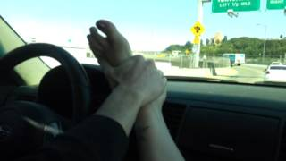 getlinkyoutube.com-Get'n a foot rub by bf while he's driving