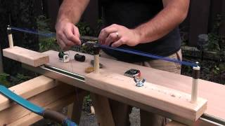 getlinkyoutube.com-How to Make a Continuous Loop String with the One Arm Jig Part 1