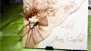 getlinkyoutube.com-Ideas para invitaciones de Boda, XV años
