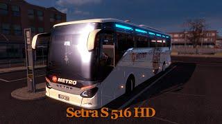 getlinkyoutube.com-Euro Truck Simulator 2 - Setra S 516 HD Otobüs Modu