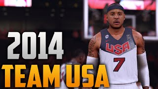 getlinkyoutube.com-NBA 2K16 Team USA 2014 Jersey Tutorial (Home Jersey)
