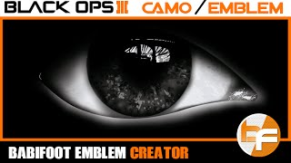 getlinkyoutube.com-Black Ops 3 Emblem Tutorial #035 - Realistic Eye #Babifoot