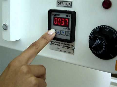 Máquina de fralda digital