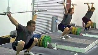 getlinkyoutube.com-Snatch, Part 1, How To, Olympic Weightlifting