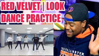 Red Velvet | Look | First Time Watching Red Velvet's Dance Practice | Reaction!!!