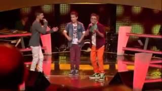 getlinkyoutube.com-The Voice Kids Battle - Treasure (Noah, Stepan, Theodore vs Sam)