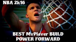 getlinkyoutube.com-NBA 2k16 Tips/Tricks - Best MyPlayer Power Forward Build