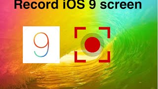 getlinkyoutube.com-Record iOS 6-9 screen with audio (using computer PC or MAC)