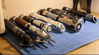 getlinkyoutube.com-Saberforge and Ultrasabers collection