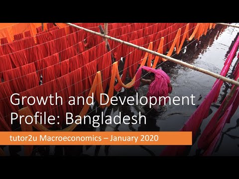 Growth and Development in Bangladesh