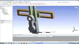 getlinkyoutube.com-WEBINAR 3: ANSYS Workbench Transient Structural FEA of a crank and slider mechanism