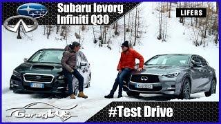 getlinkyoutube.com-Subaru Levorg VS Infiniti Q30 | 2016 | Test Drive | Su strada