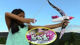 getlinkyoutube.com-Nerf Rebelle Heartbreaker Bow - Kids' Toys