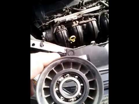Где у Chevrolet TrailBlazer находится ремень кондиционера