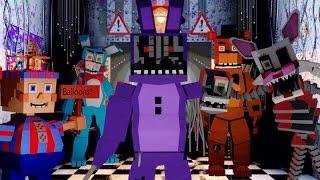 getlinkyoutube.com-Minecraft   FIVE NIGHTS AT FREDDY'S MOD Showcase! (Five Nights at Freddy's Maze, Withered Bonnie)