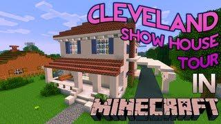 getlinkyoutube.com-Minecraft: Cleveland Show House Tour