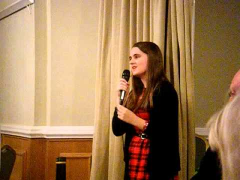 Olivia Gordon - 'My House' from Matilda the Musical Cover, Elwy Hall, Rhyl