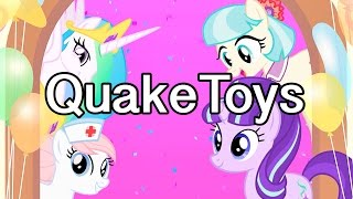 My Little Pony Surprise Mystery Character Party Day Friendship Celebration Cutie Mark Magic Game App