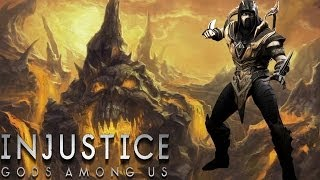 getlinkyoutube.com-Injustice: Gods Among Us - Scorpion - Classic Battles On Very Hard (No Matches Lost)