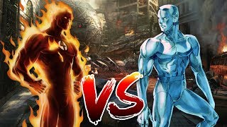 Human Torch VS Iceman | Who Wins?