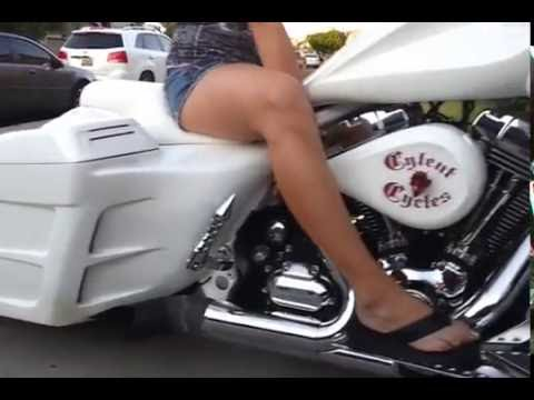 cylent cycles badass harley bagger