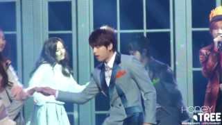 131227 KBS가요대축제 - INFINITE WOOHYUN - MAN IN LOVE 우현ver♥