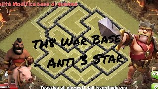 getlinkyoutube.com-Clash of Clans - TH8 War Base Anti 3 Star with Air Sweeper + Replays ||Guio28