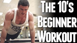 getlinkyoutube.com-The 10's Beginner Workout (Body Weight Only)