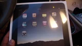 iPad arrival
