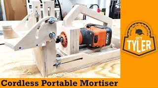 getlinkyoutube.com-Cordless Portable Mortiser