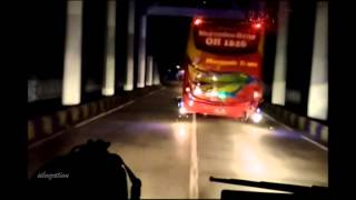 getlinkyoutube.com-Manggala Trans SCANIA K360 Celebes Style Bus - Mr Kijang #7OKIBUS