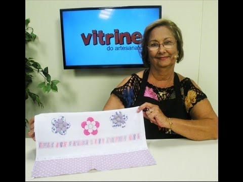 Bordado com Ana Maria Ronchel e Fast Patch com Valeria Souza | Vitrine do artesanato na TV