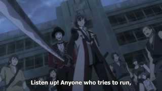 getlinkyoutube.com-Black Bullet - Rentaro takes over as commander