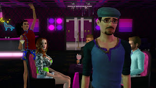 getlinkyoutube.com-Sims 3 - New POLE & LAP Dances at Pre-Madonna Exotic Dance Club - Sims 3 Machinima