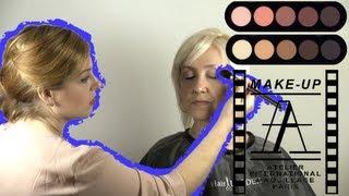 getlinkyoutube.com-Возрастной макияж 45+ в карандашной технике | Age Makeup 45+