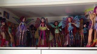 getlinkyoutube.com-My Winx Club Doll Collection 2013