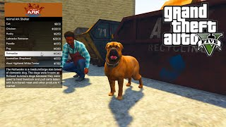 getlinkyoutube.com-GTA 5 PC Mods - ANIMAL PET SHOP MOD!!! - GTA 5 Pet Mod w/ Wildlife Bodyguard Pets!