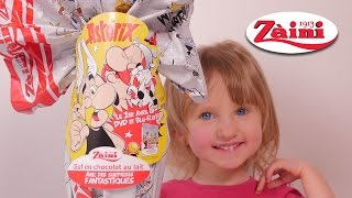 getlinkyoutube.com-[OEUF] Oeuf Surprise Maxi Asterix Zaini - Unboxing Maxi Surprise Egg Zaini Asteric edition
