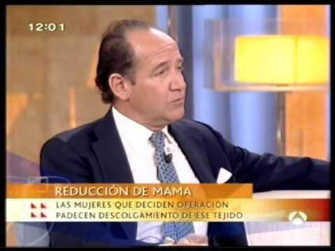 Entrevista Antena3 al Dr. Mato Ansorena Reducción de Pecho - Reducción de Senos - Reducción de Mamas