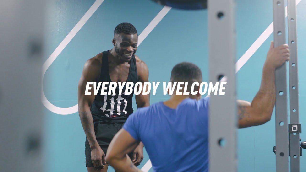 New & Improved gym