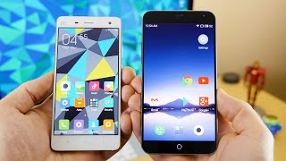 Xiaomi MI4 vs Meizu MX4 Comparison (In 4K)