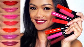 getlinkyoutube.com-Sephora Collection Cream Lip Stains + Lip Swatches | Brigette Ramos