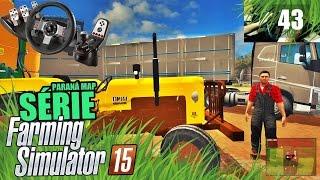 getlinkyoutube.com-Farming Simulator 2015 Multiplayer - Espalhando Calcário com Valmet 85
