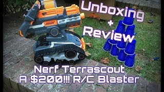 getlinkyoutube.com-Nerf Terrascout, A $200 Blaster/Drone (Unboxing + Review)