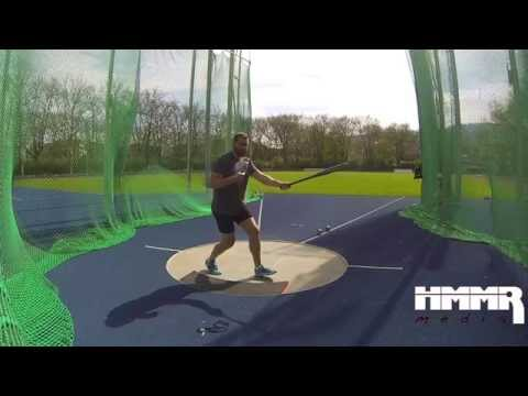 How to Stay Low in the Hammer Throw