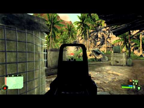 Crysis GTX 580 HD 1080p Gameplay - Max Settings