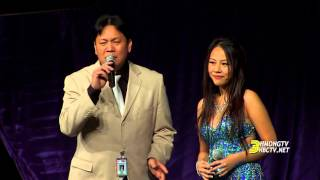 getlinkyoutube.com-3HMONGTV: Michelle Vang sings with Mistik Band at Hmong Minnesota New Year 2016.